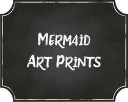 Mermaid Art Prints