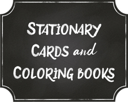 Stationary, Cards & Coloring Books