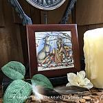 Catching Dreams - Wooden Frame Art Tile