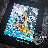 A Pirate's Life - Hand Embellished Limited Edition Fine Art Prints