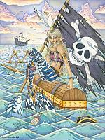 A Pirates Life - Mermaid at Sea Art Print