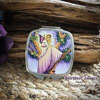 A Place to Hide - Fairy Compact Mirror