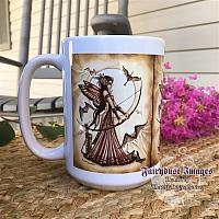 Aiming for Love II - Archery Fairy Coffee Mug