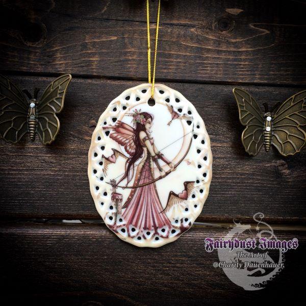 Aiming for Love II - Fairy Ornament