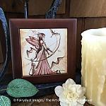 Aiming for Love II - Wooden Frame Art Tile