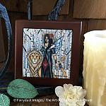 Aspen - Wooden Frame Art Tile