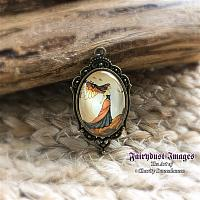 Autumn Breeze - Fairy Pendant