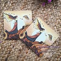 Autumn Breeze - Fairy Coaster
