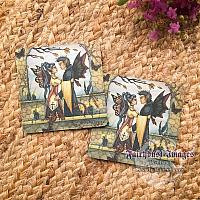 Autumn's Goodbye - Fairy Coasters