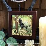 Beautiful Distraction - Wooden Frame Art Tile