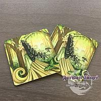Beautiful Distraction - Green Lady Coaster