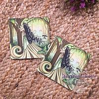 Beautiful Distraction - Green Lady Coaster