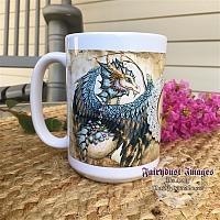 Beauty and The Beast - Dragon Coffee Mug