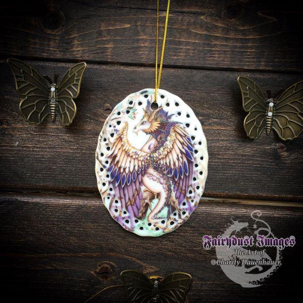 Beauty - Beautiful Dragon Ornament