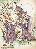 Beauty - Beautiful Dragon Art Print