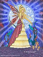 Blue Moon Fairy - Fantasy Art Print