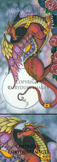 Mufasa - Red Dragon Bookmark