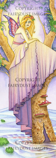 A Place to Hide - Fairy Bookmark
