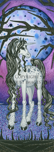 Unicorn Dreams - Fantasy Art Bookmark