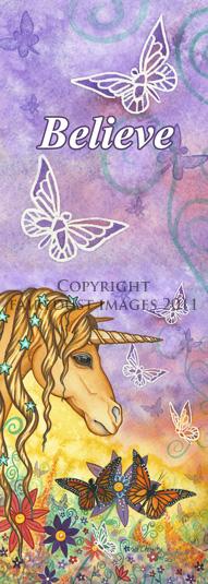 Spirit - Unicorn Bookmark
