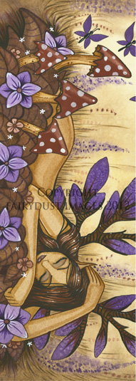Woodland Fairy - Bookmark