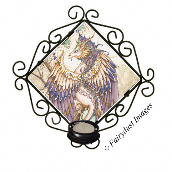Beauty - Dragon Candle Sconce