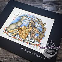 Catching Dreams - Hand Embellished Limited Edition Fine Art Print