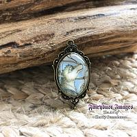 Catching Dreams - Wolf Pendant
