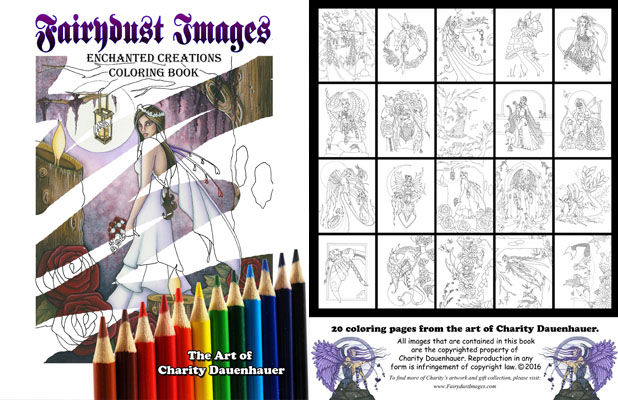 Enchanted Creations - Coloring Book