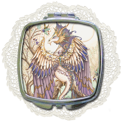 Beauty - Dragon Compact Mirror