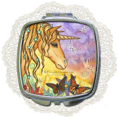 Spirit - Unicorn Compact Mirror