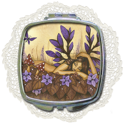 Woodland Fairy - Compact Mirror