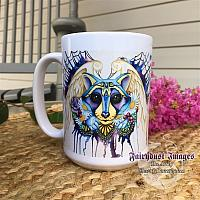 Daisy - Raccoon Coffee Mug