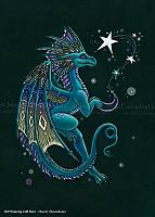 Dancing with Stars - Limited Edition Dragon Art Print
