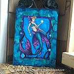Deep Blue Waters - Original Watercolor Painting