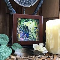 Deliverance - Wooden Frame Art Tile