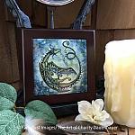 Star Dancer - Wooden Framed Art Tile