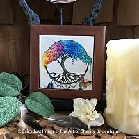 The Dream of Life - Wooden Frame Art Tile
