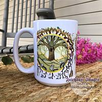 Embracing Aussie - Koala Bear Tree of Life - Coffee Mug