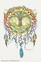 Embracing Aussie - Koala Bear - Tree of Life - Art Print