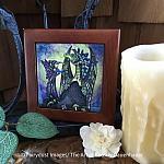 Enchantment - Wooden Frame Art Tile