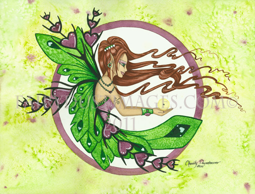 Faith - Mustard Seed Fairy Art Print