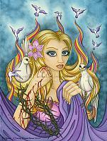Forgiven - Inspirational Angel Art Print