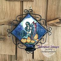 Fright Night - Halloween Fairy Candle Sconce