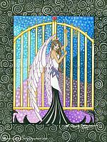 Heaven's Gates - Angel Art Print