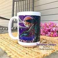 His Return - Warrior Dragon Ceramic Coffee Mug