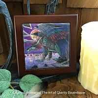 His Return - Wooden Frame Art Tile