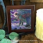 His Return - Wooden Frame Art Tile