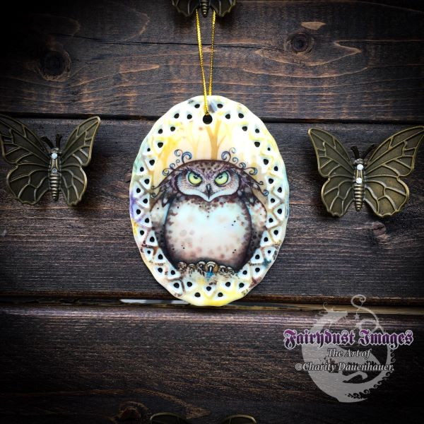 Hootie - Owl with an Attitude Ornament