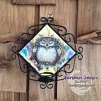 Hootie - Owl Candle Sconce